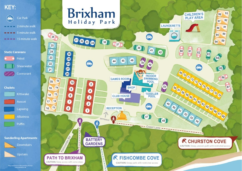 Brixham-Holiday-Park-Map