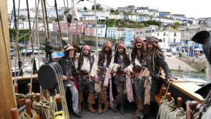 Arrr! That be Brixham Pirate Festival