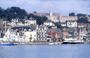 Picturesque Dartmouth is well worth a visit
