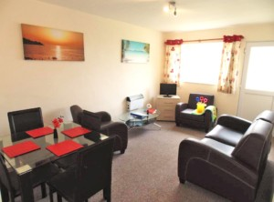 Sanderling apartment living room