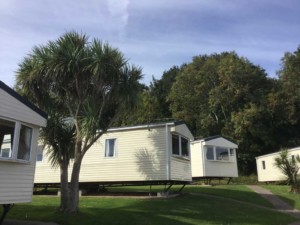 caravans with seaview