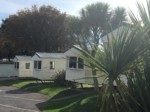 caravans at Brixham holiday park