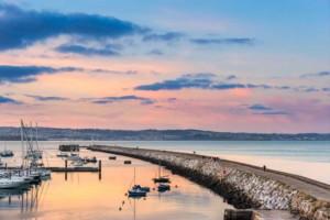 Brixham harbour and breakwater